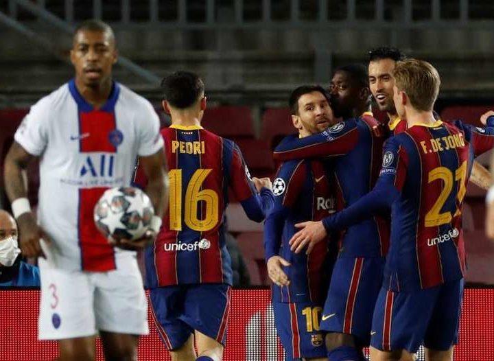 Le groupe du Barça pour affronter le PSG en Ligue des champions