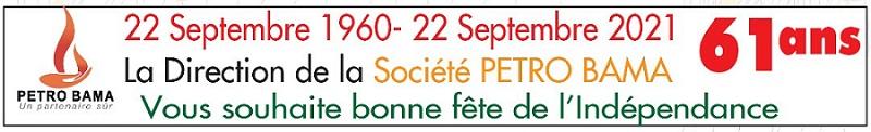 22 Septembre 1960-22 Septembre 2021